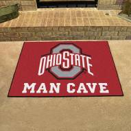 Ohio State Buckeyes Man Cave All-Star Rug