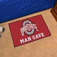 Ohio State Buckeyes Man Cave Starter Mat