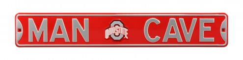 Ohio State Buckeyes Man Cave Street Sign