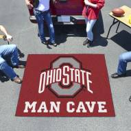 Ohio State Buckeyes Man Cave Tailgate Mat