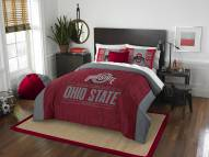 Ohio State Buckeyes Modern Take Full/Queen Comforter Set