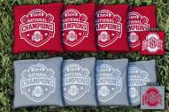 Ohio State Buckeyes National Champ Cornhole Bag Set