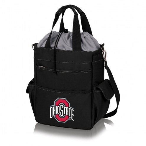 Ohio State Buckeyes NCAA Black Activo Cooler Tote