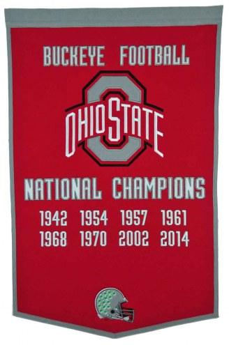 Winning Streak Ohio State Buckeyes NCAA Football Dynasty Banner
