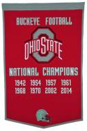 Winning Streak Ohio State Buckeyes NCAA Football Dynasty Banner