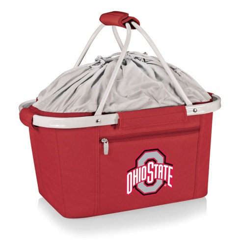 Ohio State Buckeyes NCAA Red Metro Picnic Basket