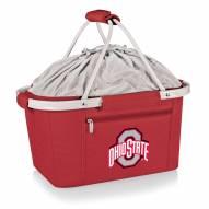 Ohio State Buckeyes NCAA Red Metro Picnic Basket