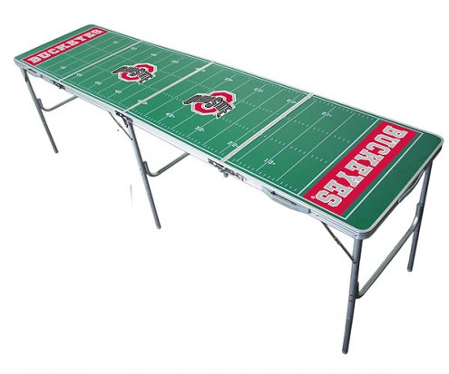 Ohio State Buckeyes College Tailgate Table