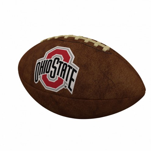 Ohio State Buckeyes Official Size Vintage Football