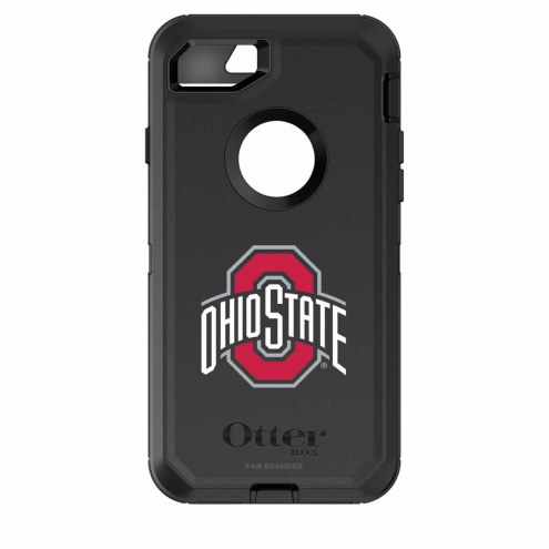 Ohio State Buckeyes OtterBox iPhone 8/7 Defender Black Case
