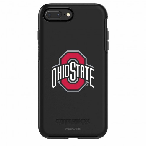 Ohio State Buckeyes OtterBox iPhone 8/7 Symmetry Black Case