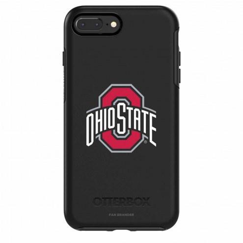 Ohio State Buckeyes OtterBox iPhone 8/7 Symmetry Black Case