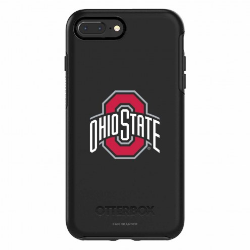 Ohio State Buckeyes OtterBox iPhone 8 Plus/7 Plus Symmetry Black Case