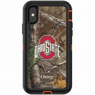 Ohio State Buckeyes OtterBox iPhone X Defender Realtree Camo Case