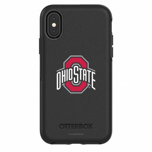 Ohio State Buckeyes OtterBox iPhone X Symmetry Black Case