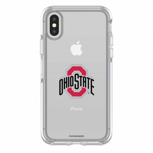 Ohio State Buckeyes OtterBox iPhone X Symmetry Clear Case