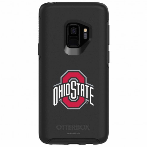 Ohio State Buckeyes OtterBox Samsung Galaxy S9 Symmetry Black Case