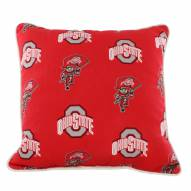 Ohio State Buckeyes Outdoor Decorative Pillow