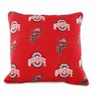 Ohio State Buckeyes Outdoor Decorative Pillow