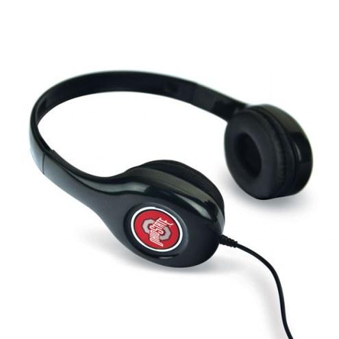 Ohio State Buckeyes Over the Ear Headphones