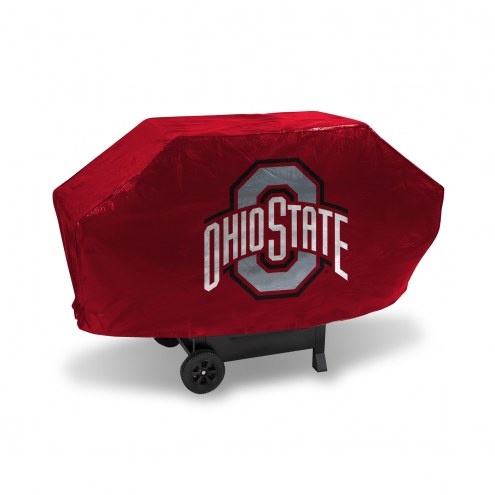 Ohio State Buckeyes Deluxe Padded Grill Cover