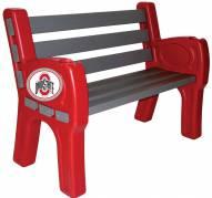 Ohio State Buckeyes Park Bench