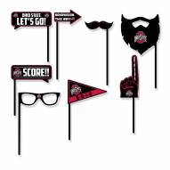 Ohio State Buckeyes Party Props Selfie Kit