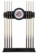 Ohio State Buckeyes Pool Cue Rack
