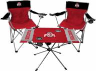 Ohio State Buckeyes Table & Chairs Set