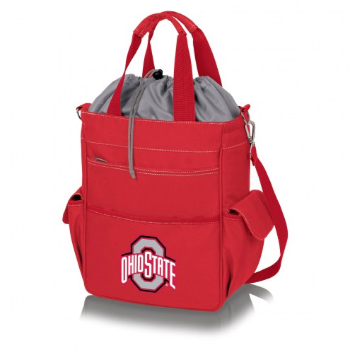 Ohio State Buckeyes Red Activo Cooler Tote