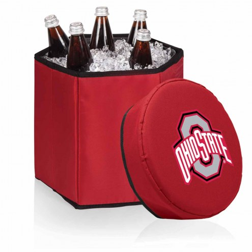 Ohio State Buckeyes Red Bongo Cooler