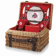 Ohio State Buckeyes Red Champion Picnic Basket