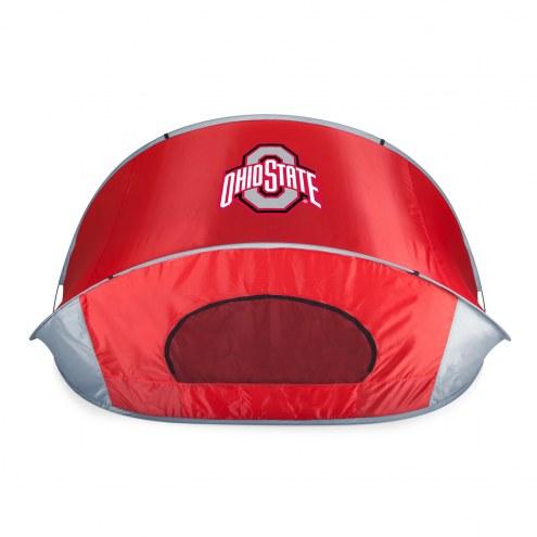 Ohio State Buckeyes Red Manta Sun Shelter