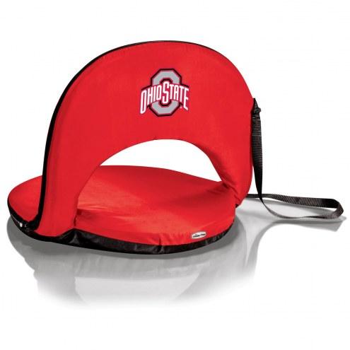 Ohio State Buckeyes Red Oniva Beach Chair