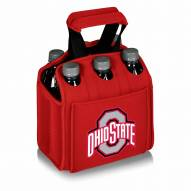 Ohio State Buckeyes Red Six Pack Cooler Tote