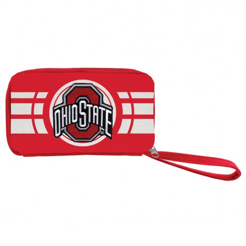Ohio State Buckeyes Ripple Zip Wallet