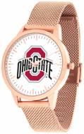 Ohio State Buckeyes Rose Mesh Statement Watch