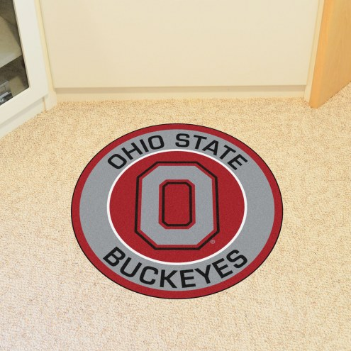 Ohio State Buckeyes Rounded Mat