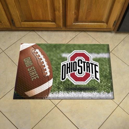 Ohio State Buckeyes Scraper Door Mat