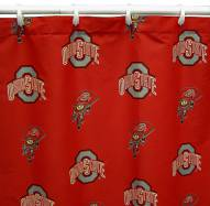 Ohio State Buckeyes Shower Curtain