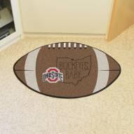 Ohio State Buckeyes Southern Style Football Floor Mat