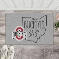Ohio State Buckeyes Southern Style Starter Rug