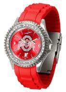 Ohio State Buckeyes Sparkle Women's Watch