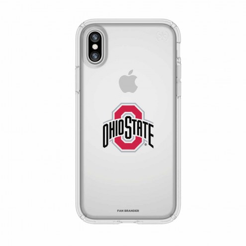 Ohio State Buckeyes Speck iPhone X Presidio Clear Case