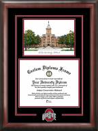 Ohio State Buckeyes Spirit Diploma Frame with Campus Image