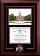 Ohio State Buckeyes Spirit Graduate Diploma Frame