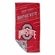 Ohio State Buckeyes Splitter Beach Towel