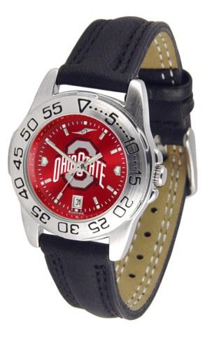 Ohio State Buckeyes Sport AnoChrome Women's Watch