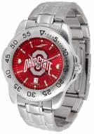 Ohio State Buckeyes Sport Steel AnoChrome Men's Watch