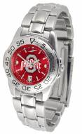Ohio State Buckeyes Sport Steel AnoChrome Women's Watch